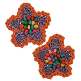 Pair of Multicolour Designer Party Hair Clips - MCHUJH4JY635