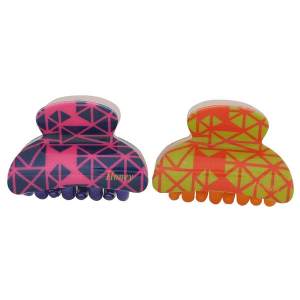 Pair of Multicolour Designer Get-together Hair Clutchers - MCHUJH4JY883