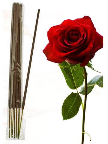Rose Incense Sticks From Pondicherry - PPIST31AG10