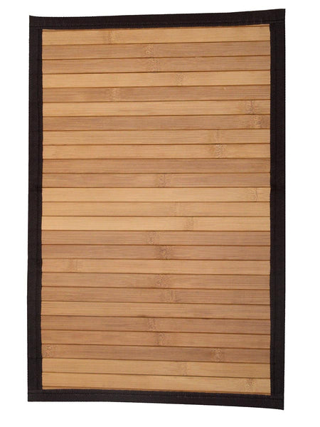 Bamboo Table Mats Plain In Natural Brown - BHDPM26JN7