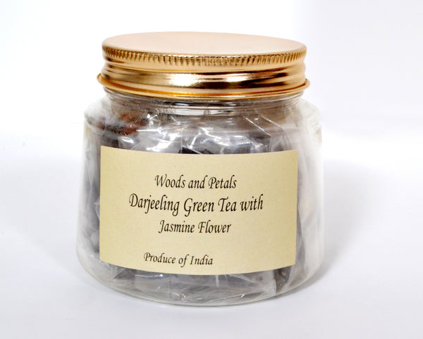 Darjeeling Green Tea With Jasmine Flower - WAPT15JL7