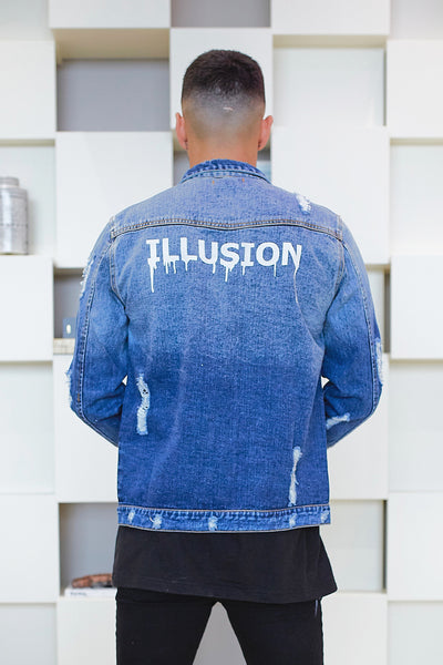 Illusion Denim Jacket
