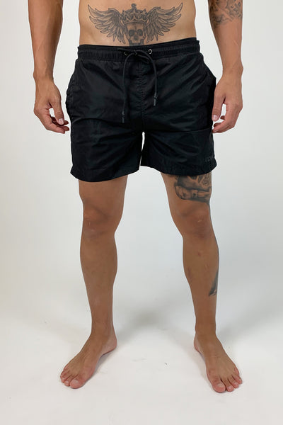 ILLUSION BLACKOUT SWIMSHORTS - Illusion Attire