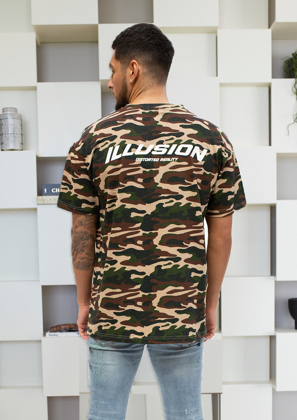 CAMO T-SHIRT - Illusion Attire