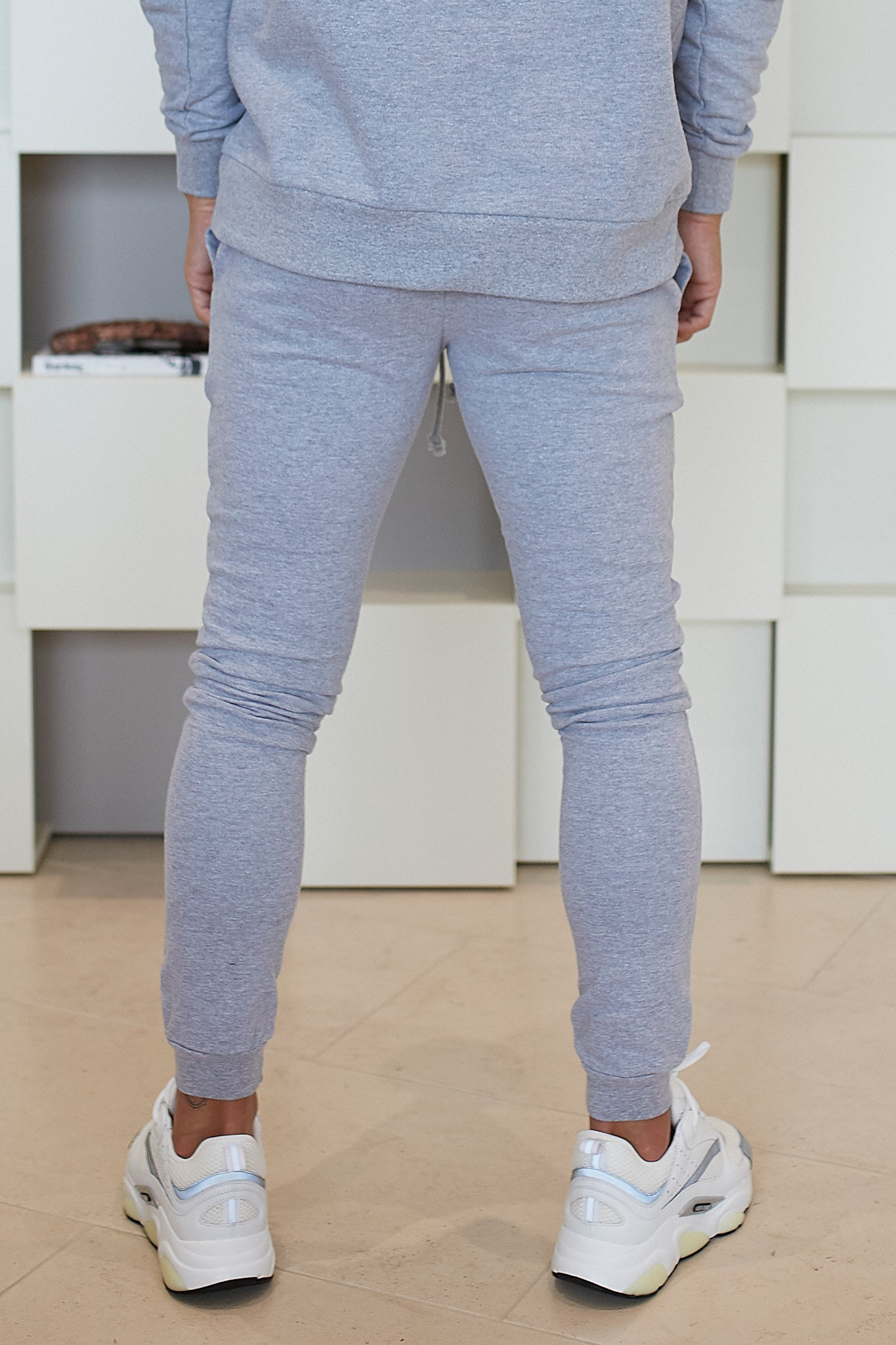GREY ESSENTIALS JOGGERS