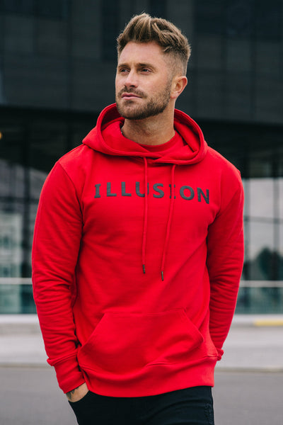 RED HOODIE - Illusion Attire