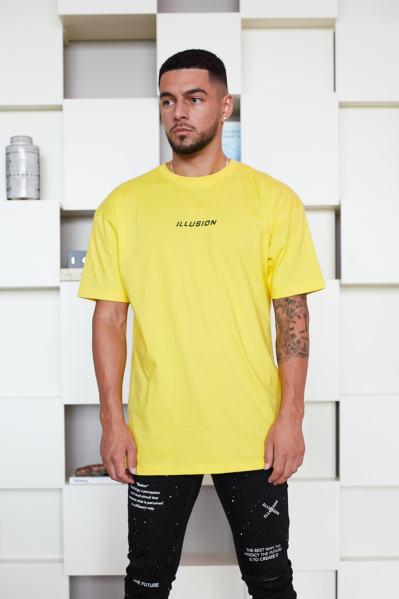 YELLOW UNITED KINGDOM T-SHIRT