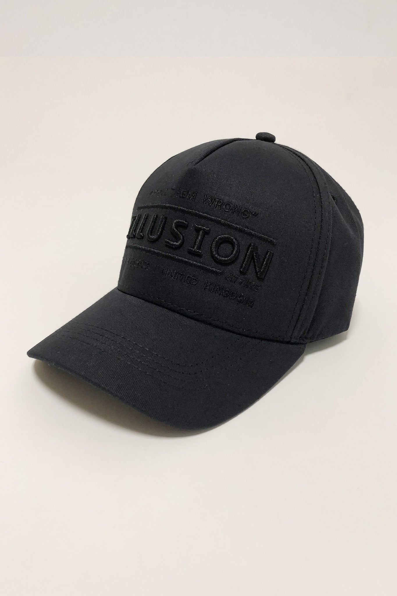 "TRIPLE BLACK - ILLUSION 'PROVE THEM WRONG"" CAP - Illusion Attire"