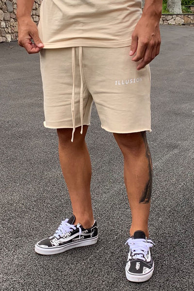 SAND TWIN SET SHORTS - Illusion Attire