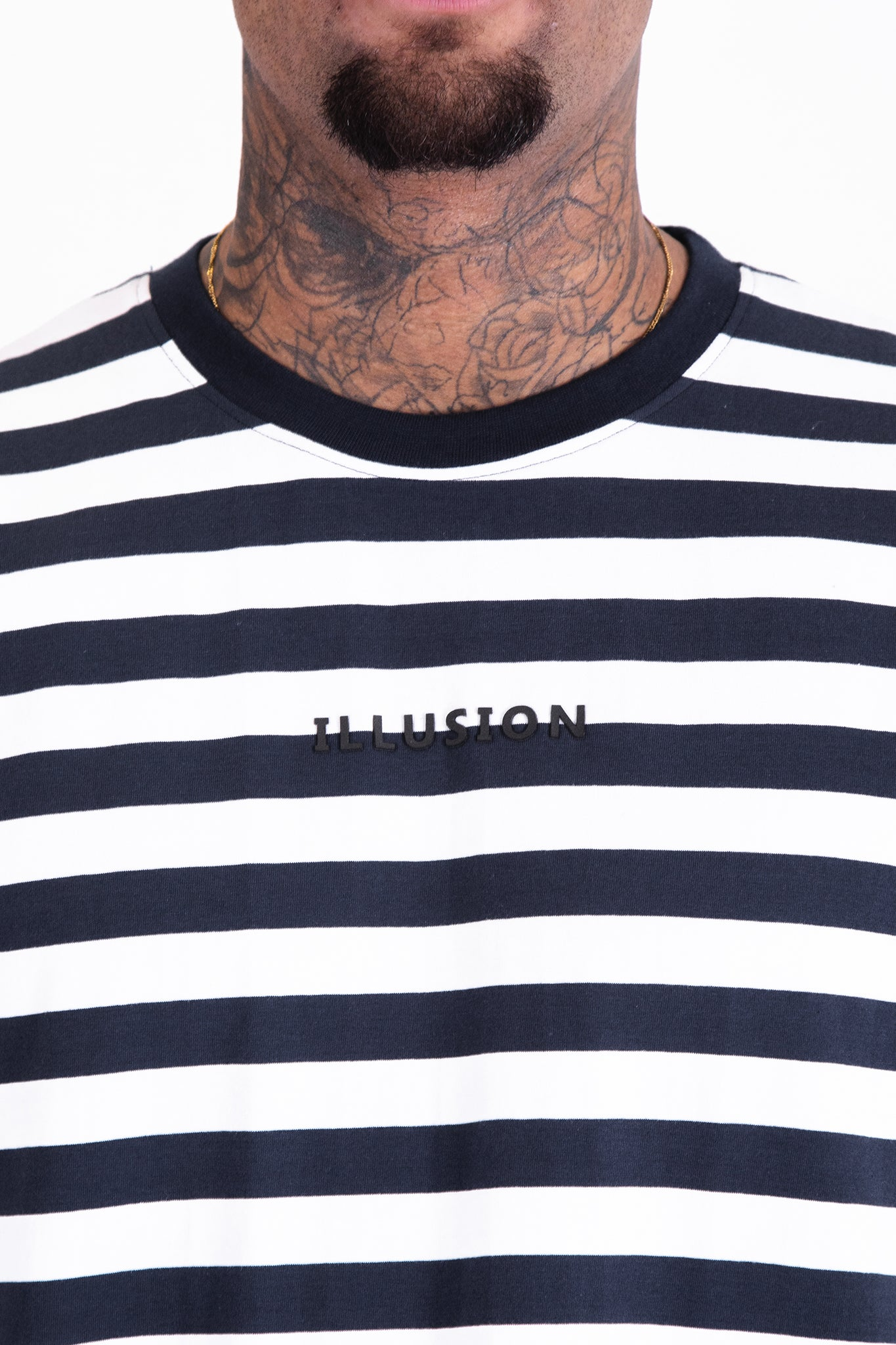 Striped Tee - Illusion Attire