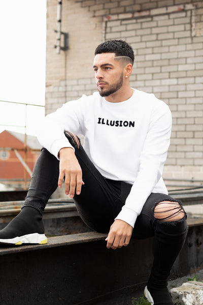 White Sweater - Illusion Attire