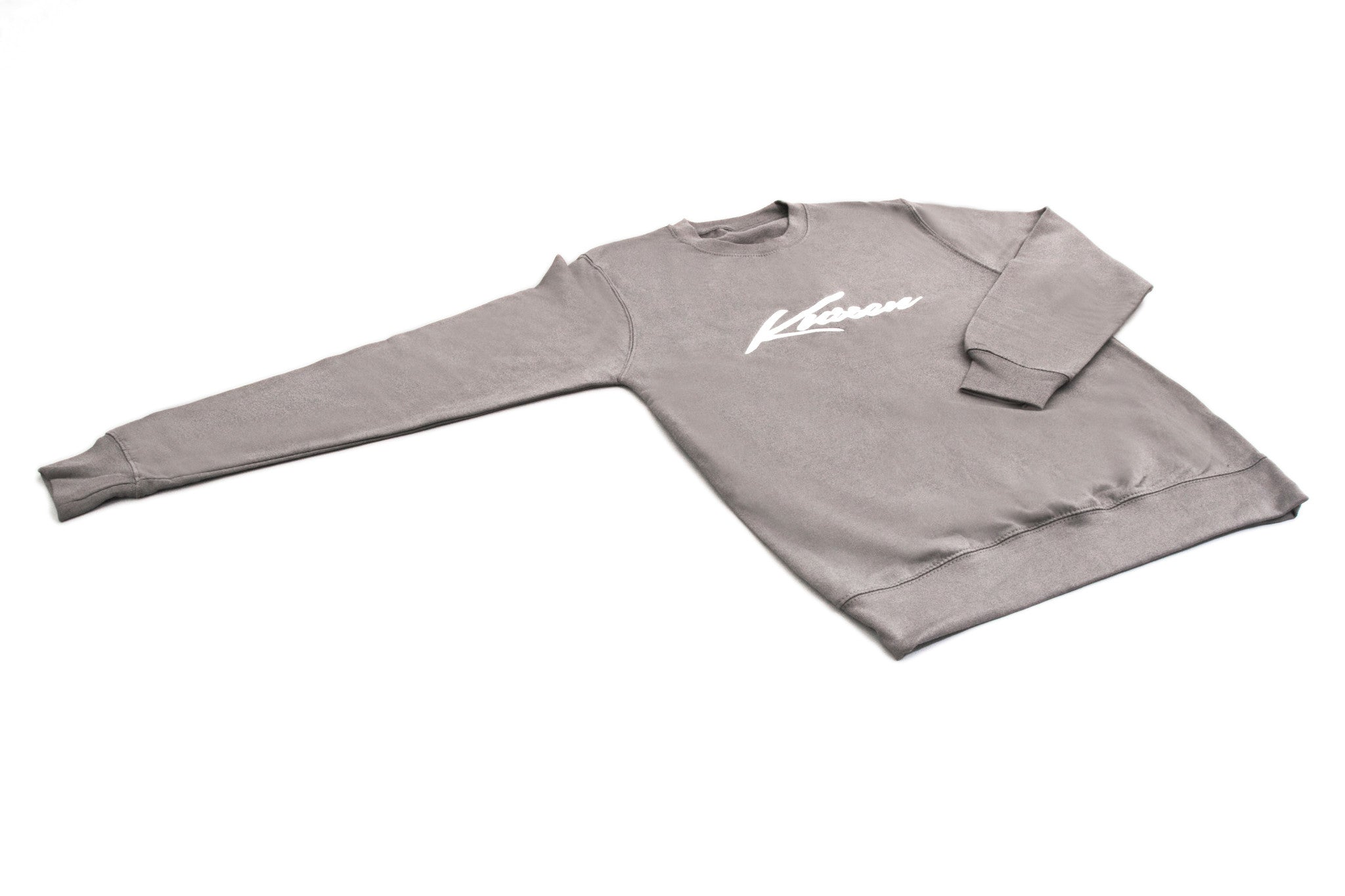 Steel Grey Kussen Signature Sweatshirt