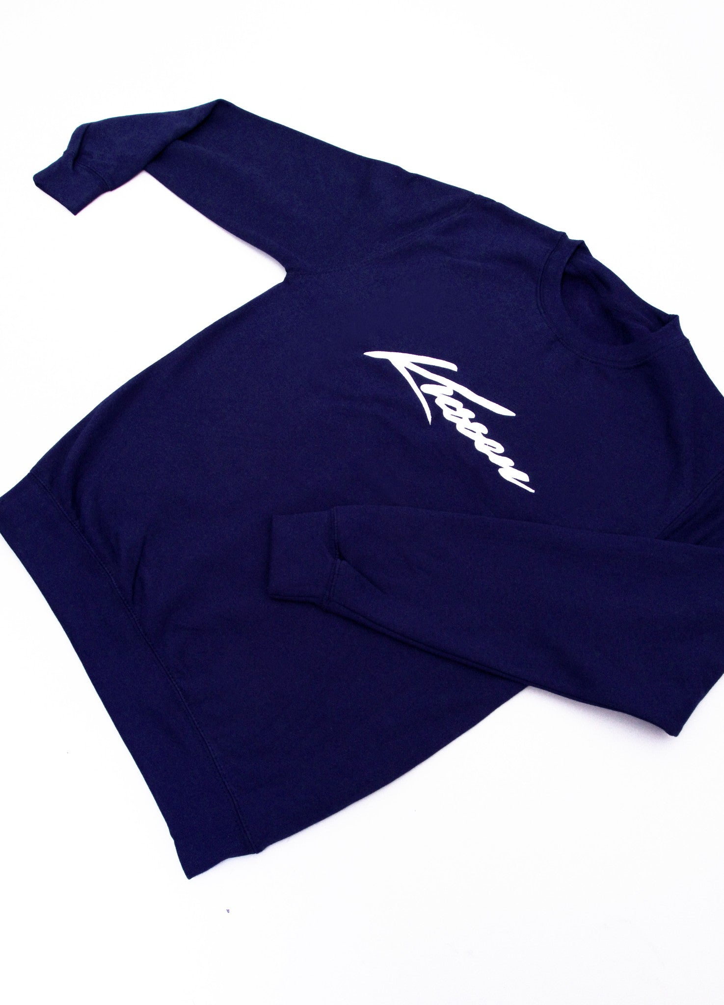 Navy Blue Kussen Signature Sweatshirt