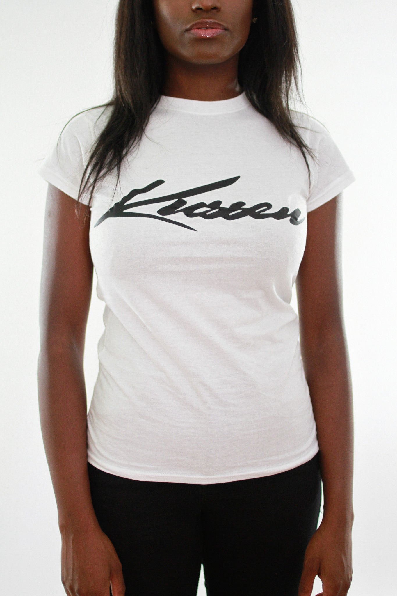 KUSSEN WOMANS FITTED SIGNATURE COLLECTION TSHIRT