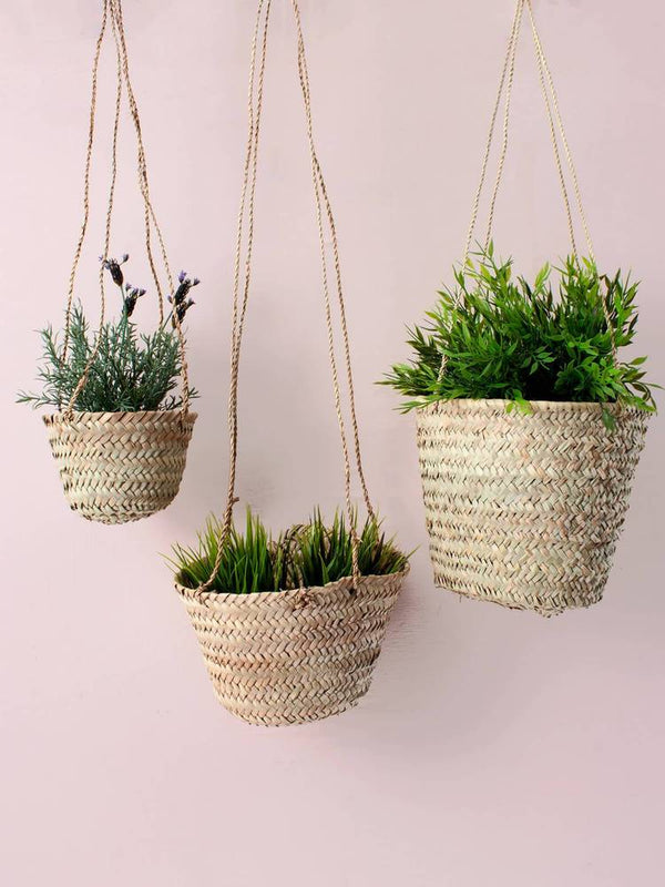Handwoven Hanging Basket