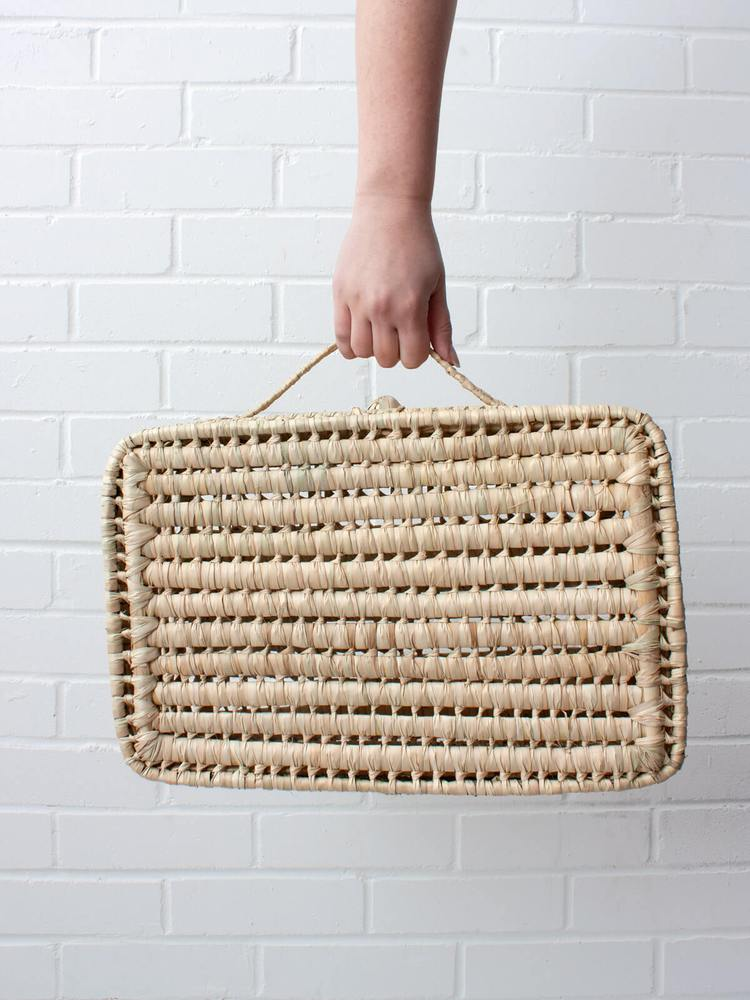 Handwoven Suitcase Large