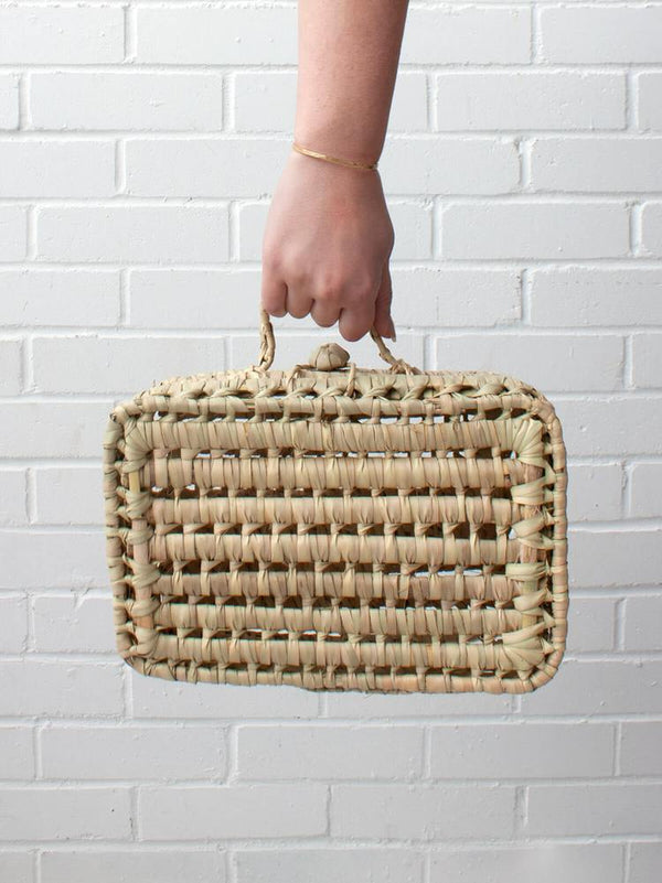 Handwoven Suitcase Small