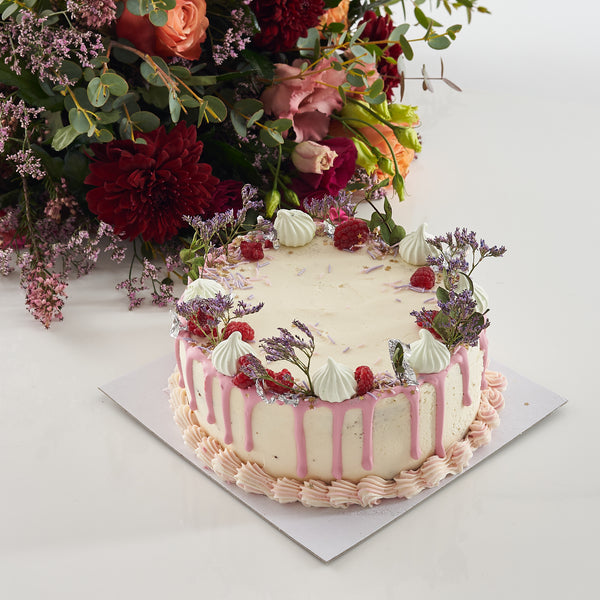 Pearl and Groove Celebration Cake
