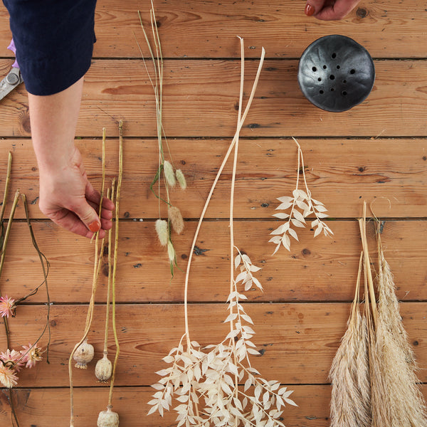 Dried Flower Ikebana Workshop Kit