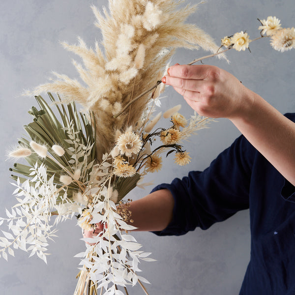 Do it yourself Dried Flower Bouquet Making Kit