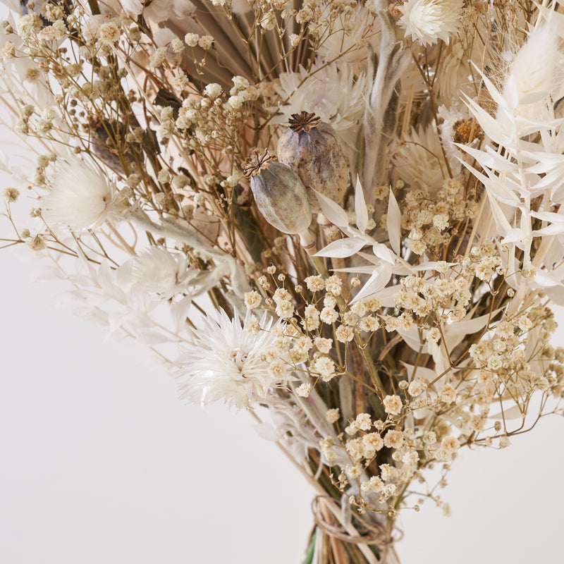 Dried Flower Bunch Snowflake