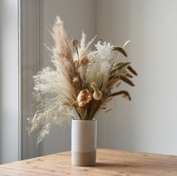Dried Flower Bunch Snowflake II