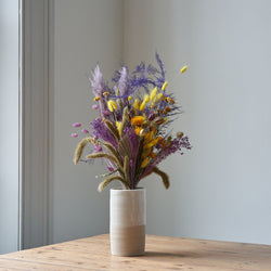 Dried Flower Bunch Palma Violet