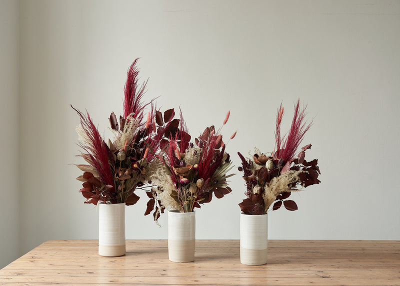 Dried Flower Bunch Red Velvet