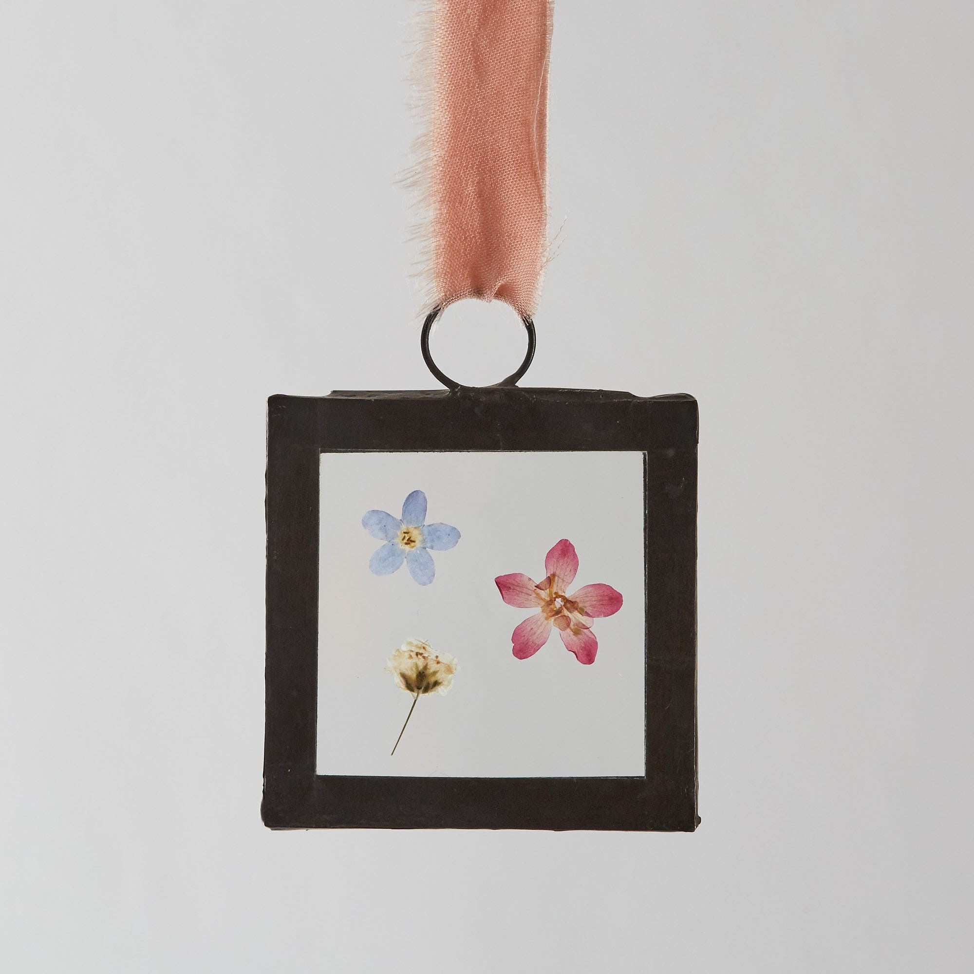 Pressed Flower Glass Frame Picture – Small Square (2 options ...