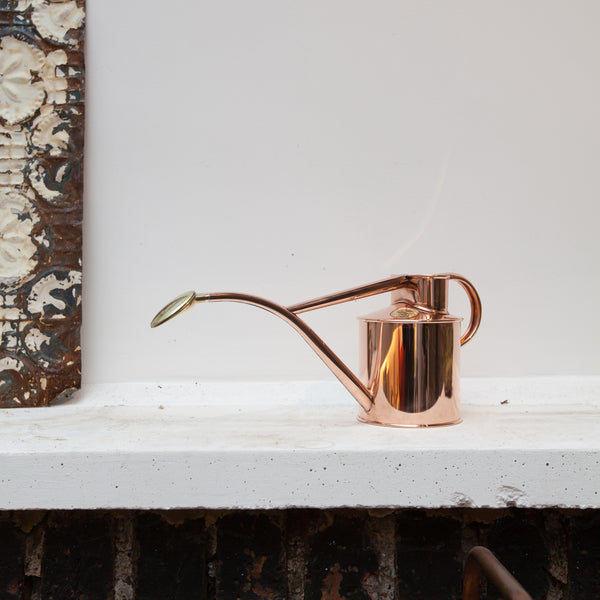Copper Watering Can 1 Litre