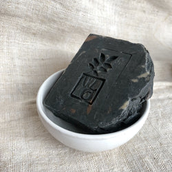 Handmade Dark Forest Charcoal Hot Pressed Soap