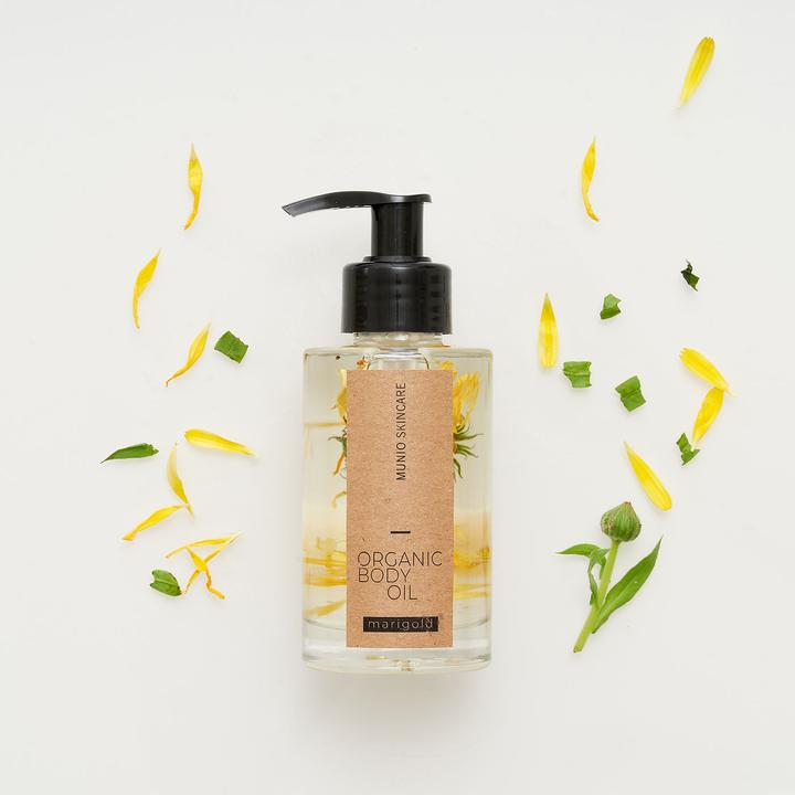 Munio Marigold Organic Body Oil