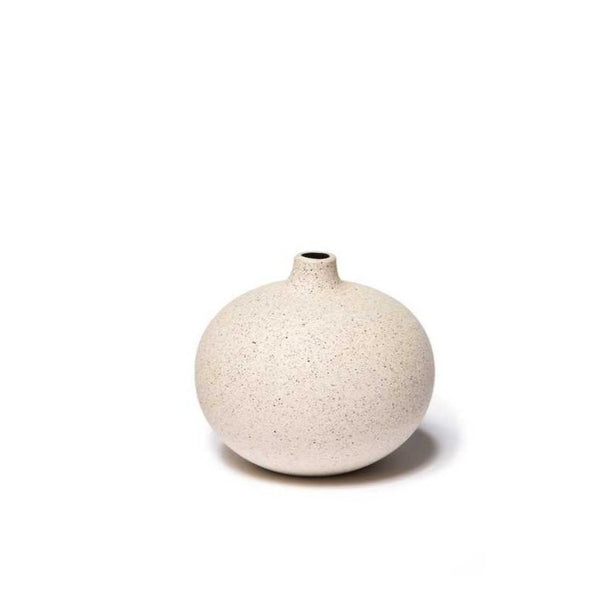 Bari Sand Light Lindform Vase Small