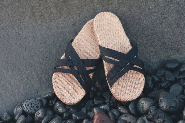 Shangies Sandals Black