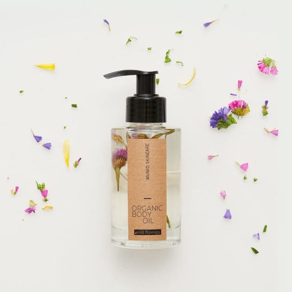 Munio Wildflower Organic Body Oil