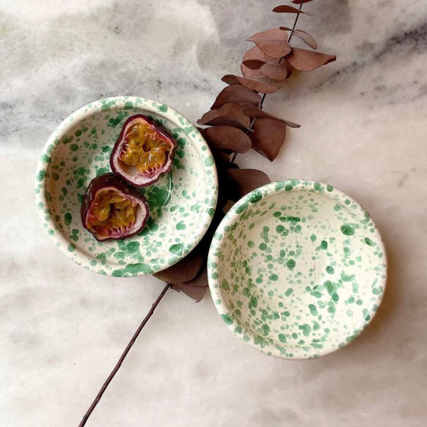 Ceramic Nut Bowl by Hot Pottery in Pistachio