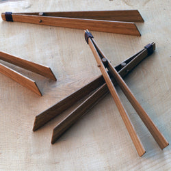 Handmade Wooden Tongs by Ambrose Vevers | Cherry & Ash