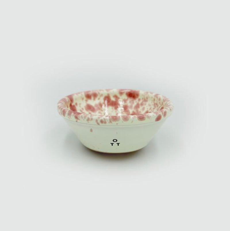 Ceramic Nut Bowl by Hot Pottery in Cranberry