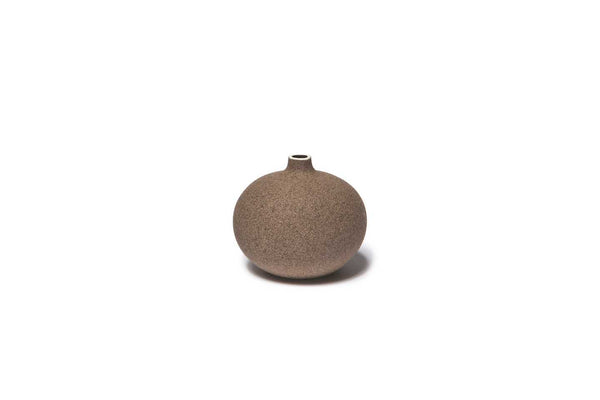 Bari Sand Dark Lindform Vase Small
