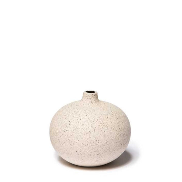 Bari Sand Light Lindform Vase Medium