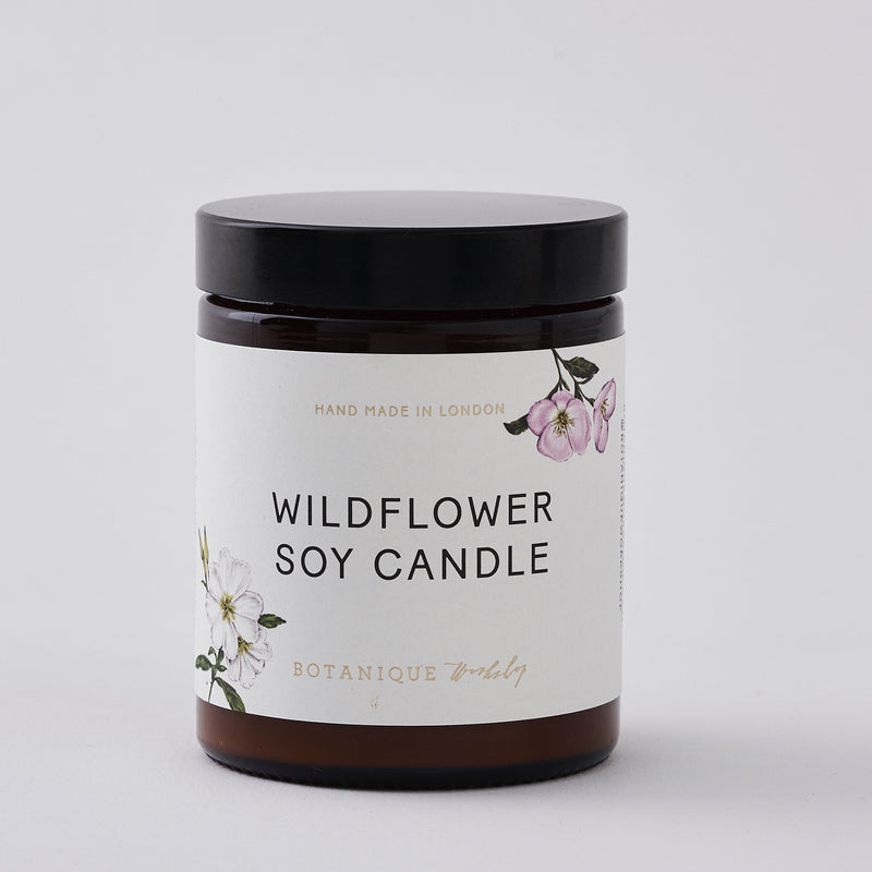 Hand-poured Wild flower scented Soy Candles