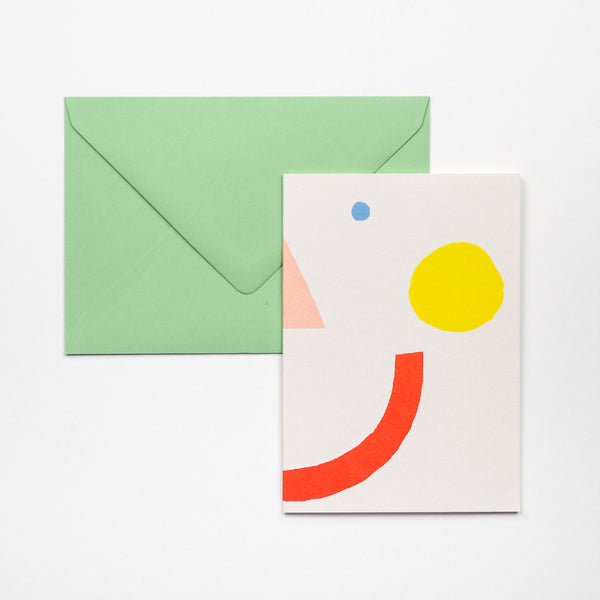 Smiley Face Greetings Card