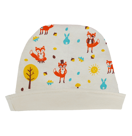 Mr Fox Reversible Hat - Dot&Co Organics