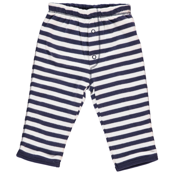 Navy Stripe Reversible Trousers - Dot&Co Organics
