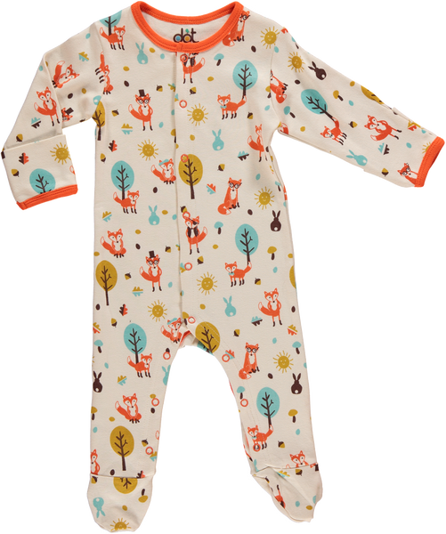 Mr Fox & Friends Babygrow - Dot&Co Organics