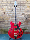 Heritage H-555 Trans Cherry 1999 Pre Owned 10%OFF!