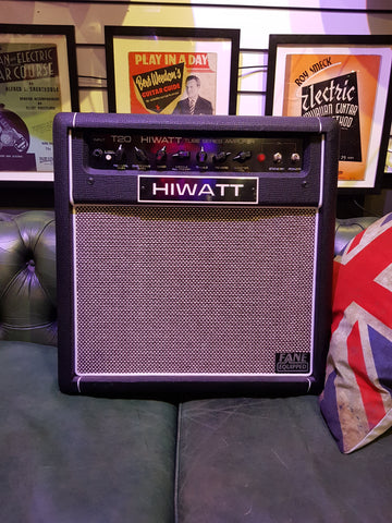 Hiwatt T20 Tube Series Guitar Amplifier 20w Fane Speaker