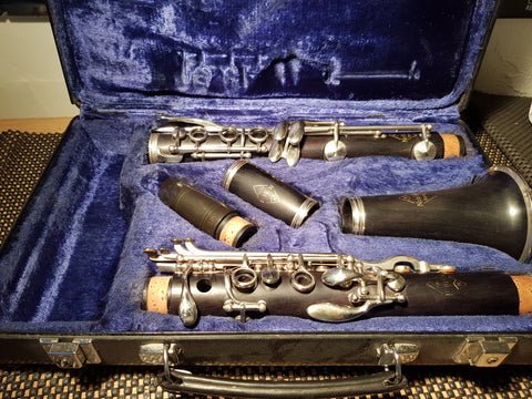 Noblet N Series Wooden Clarinet Fully Refurbished