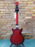Ibanez AM53-SRF Sunburst Red