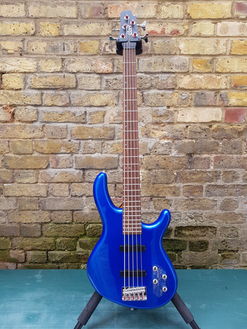 Cort Action Plus PJ Bass V Blue Metallic 5 String